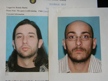Manny Gallardo, left, and Louis Menesses, both 32, arrested separately in St. Bernard Parish after each received a package of 1.5 pounds of high quality marijuana worth a total of $20,000 sent to their residences.