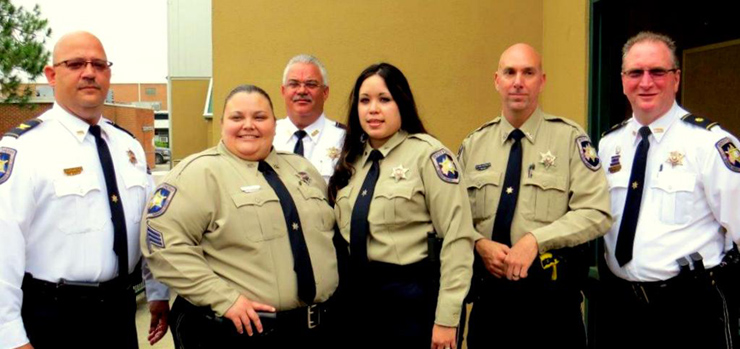 Four St. Bernard sheriff's deputies graduate from Peace Officers ...