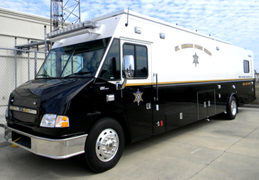 The new Sheriff's Office mobile command post will lead the Knights of Nemesis parade for the first time on Saturday at 1 p.m. and a deputy on board will post live parade location updates on the department Facebook page for the first time.