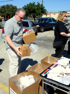 Stacy Clavin of Chalmette turns in old prescription medications at a drug take-back day in October 2013. The next such event is 10 a.m. to 2 p.m. on Saturday, Sept. 27 at the Walgreens pharmacy parking lot in Chalmette at Judge Perez Drive at Paris Road.
