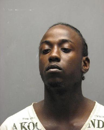 Damian Jones, wanted for murder in Detroit and captured in Chalmette.