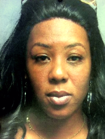 Shonika White, Clay's girlfriend, who was booked on marijuana and Tramadol pain-killer charges