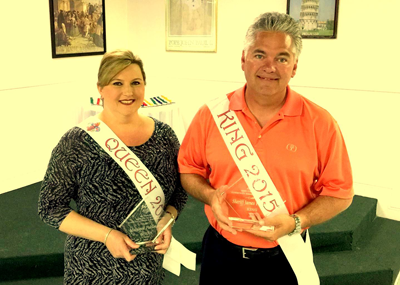Sheriff James Pohlmann and wife, Monique, will reign as King and Queen of the Irish, Italian, Islenos Community Parade in Chalmette on Sunday, April 12.