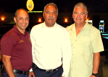 Sheriffs at the event were Lonnie Greco of Plaquemines, Marlin Gusman of Orleans and Sheriff Pohlmann.