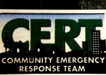 The C.E.R.T., or Community Emergency Response Team.