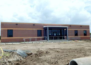 Sub-station on Paris Road that will open in early July.
