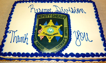 A cake for the Reserve Division.