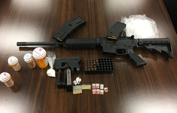 Guns, cocaine and pills recovered in arrest of Chalmette brothers.