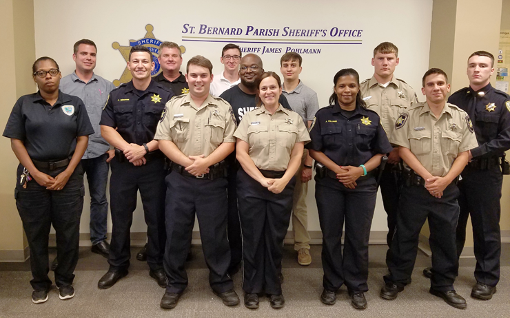 training in office peace officers standards and training graduation st bernard